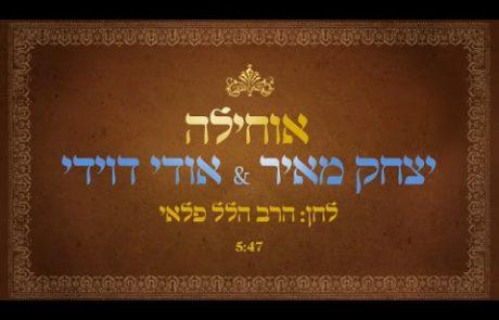 'אוחילה לאל'- יצחק מאיר ואודי דוידי