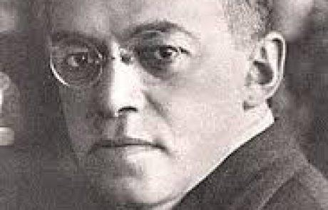 'בהלך רוח של ט' באב'- זאב ז'בוטינסקי