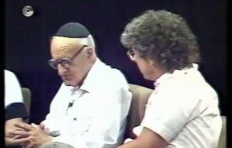 פאנל צעירים על ט' באב בהשתתפות ישעיהו לייבוביץ'