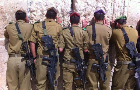 ברכה חילונית לשלום החיילים- יעקב מעוז