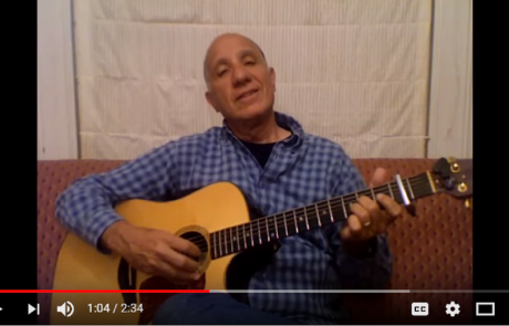 A Father's Original Melody for the Blessing Over the Children